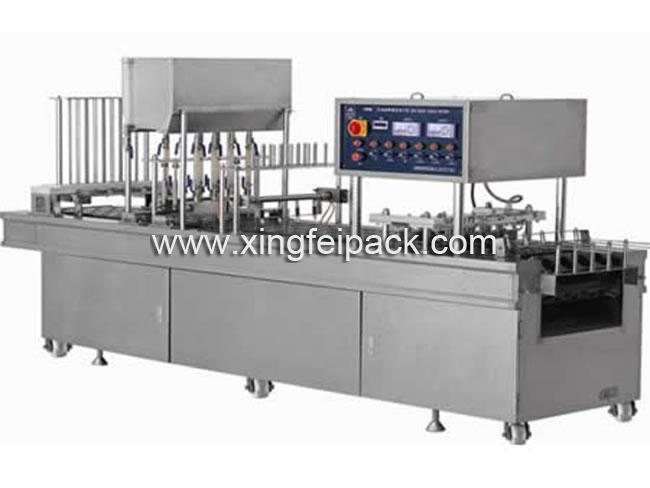 Automatic Liquid Cup Filling Sealing Machine