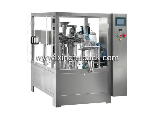 Automatic Premade Doy Pouch Filling And Sealing Machine